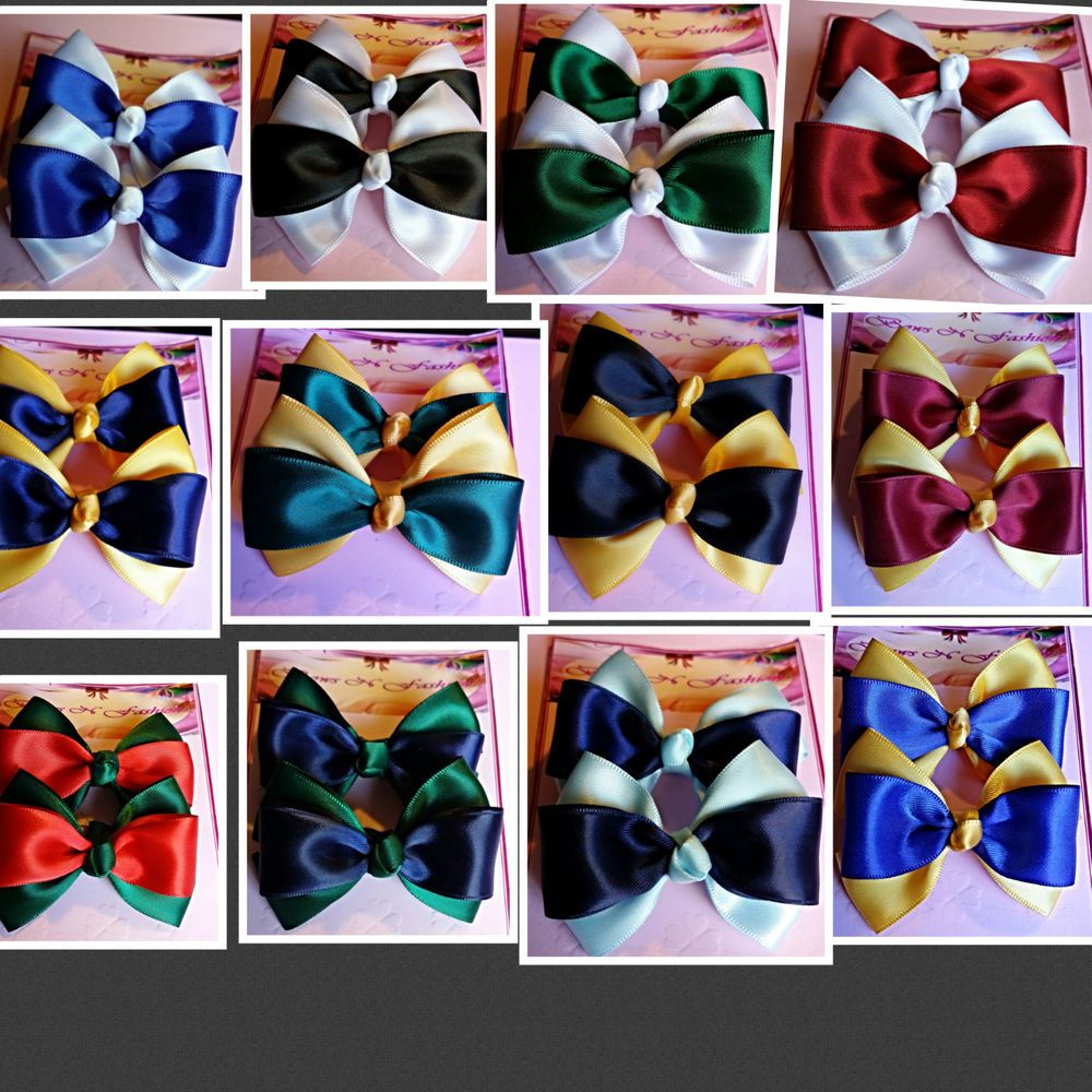 Details about Lot Bows Elastic Tie Party Dance School