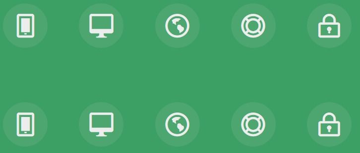 Simple Icon Hover Effects with CSS Transitions and
