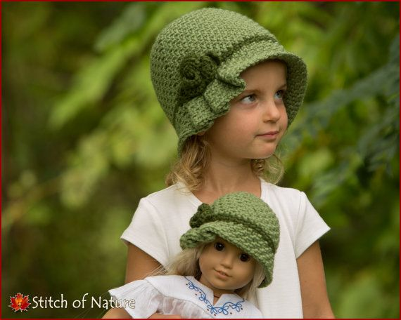 e190dcfb825 Crochet PATTERN The Virginia Pleated Hat with a by StitchOfNature ...