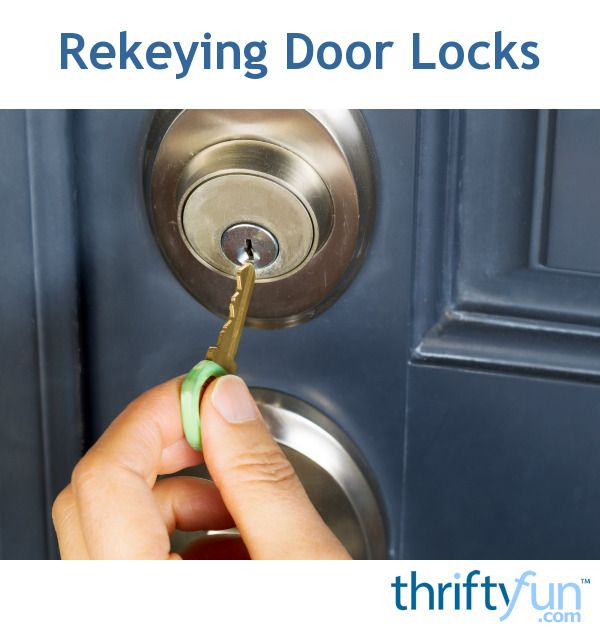 Rekeying Door Locks Home Security Burglar Home Security Systems