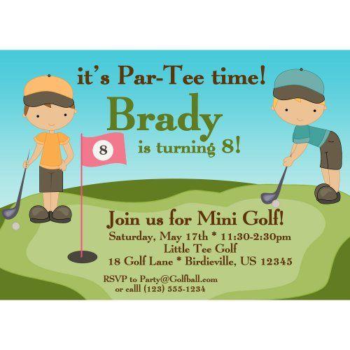 golf birthday invitations ideas for cathy invitation ideas