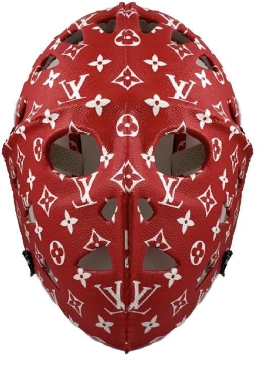 Tayler Bullish Louis Vuitton Supreme Hockey Mask Ski Mask