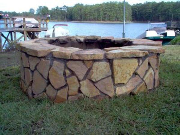 DIY Inspiring Fire Pit Designs Fire Pit Designs Concrete And - Diy inspiring fire pit designs