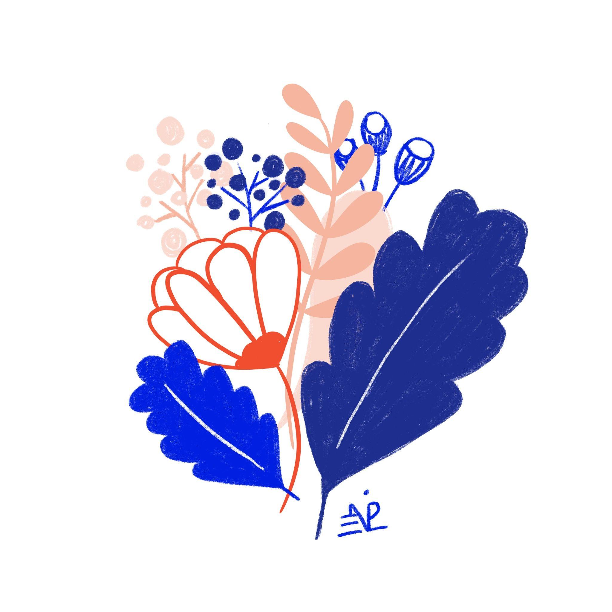 Petit bouquet de fleurs 🌿 Comme je vous le disais en story ...