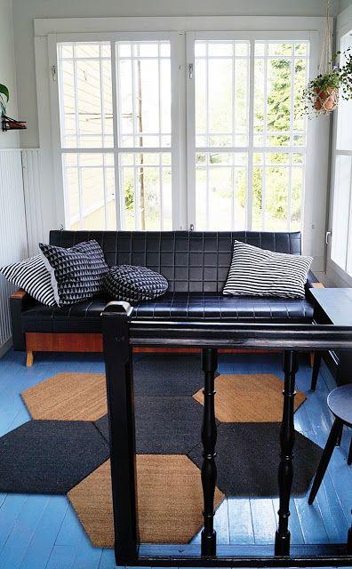 Tämä sohva ois kiva, samaa  sarjaa tuolit jo löytyykin kotoa..