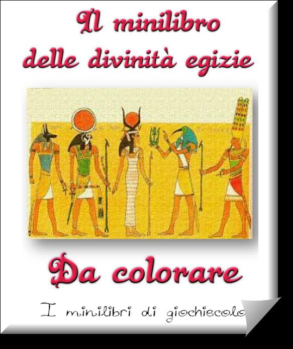 Le divinit egizie da colorare schede didattiche sulle - Disegnare le proprie pagine da colorare ...