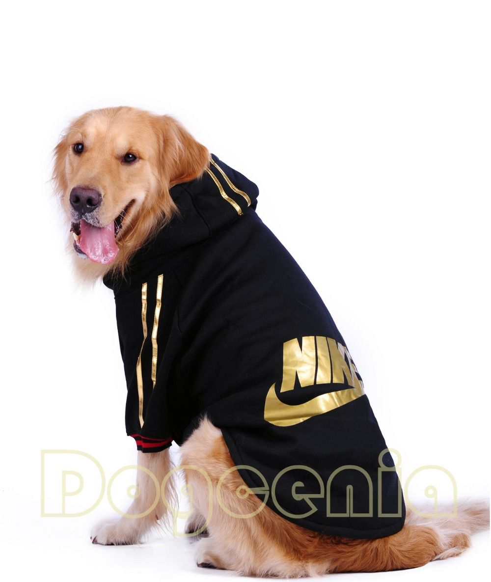 Nike Dog Clothes Nike Large Dog Clothes Winter Dog Cotton Coat