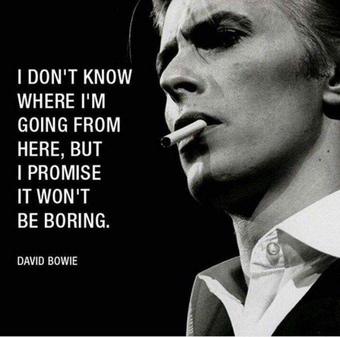 30 David Bowie Quotes That Let The Legend Live on | Bowie ...
