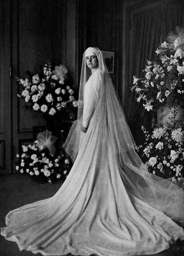 wedding dress 1928 | old vintage wedding photos | Pinterest ...