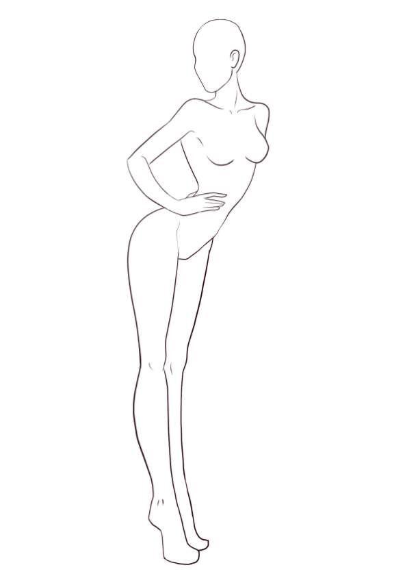 Free Fashion Templates Croquis Fashion Drawing Sketches Fashion Figure Drawing Fashion Illustration Sketches
