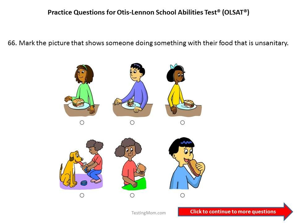 Pin on olsat test otislennon school ability test free
