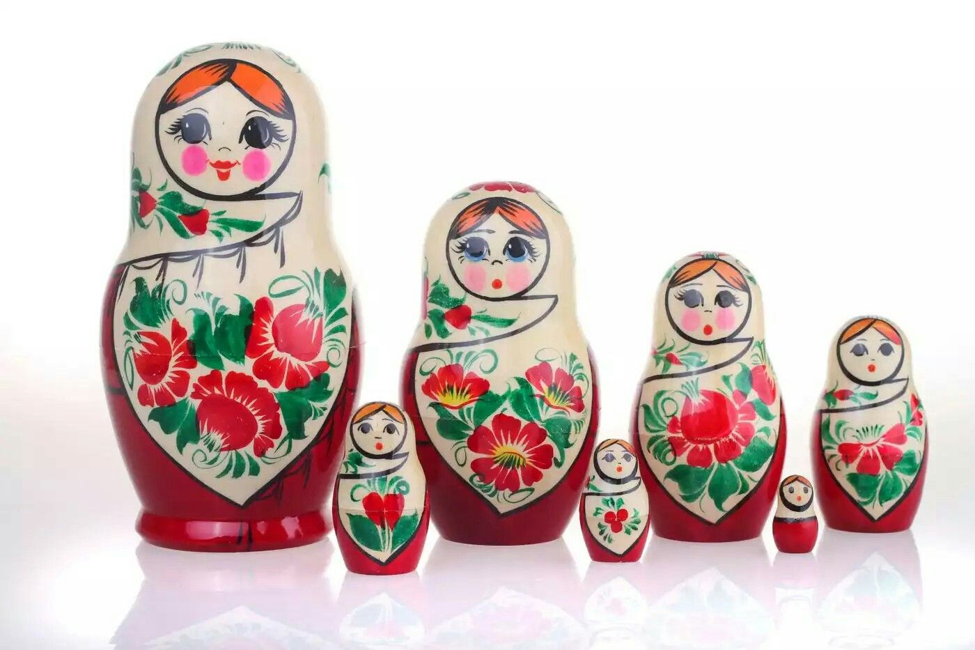Картинки матрешки русской
