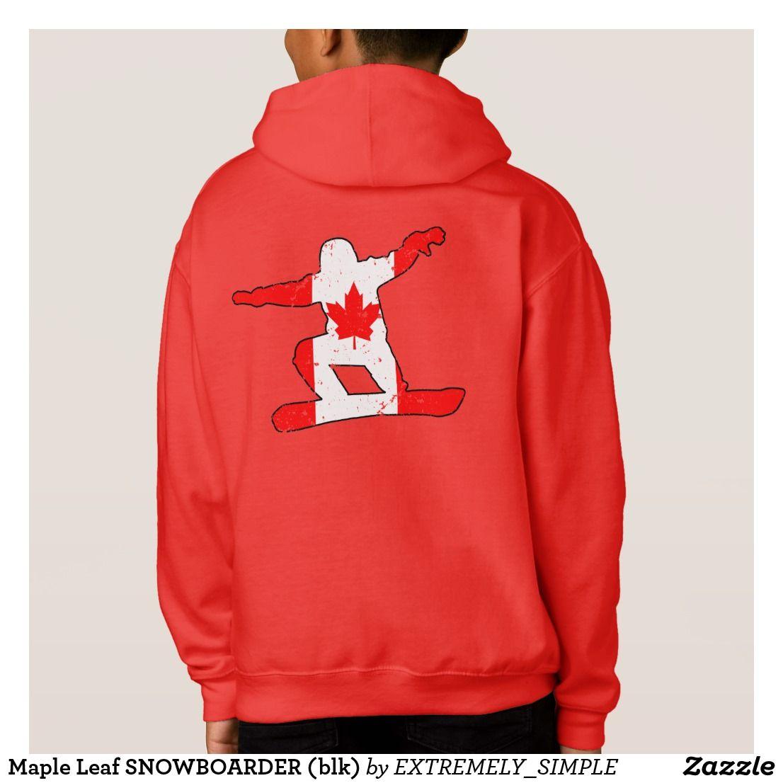 Snowboard hoodie Shredding the gnar hoody winter clothing gift hooded top
