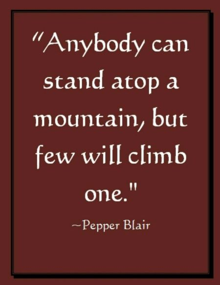 Wwwlove Quotes Alluring Climb A Mountainpicture Quote Www.lovepbpoetry
