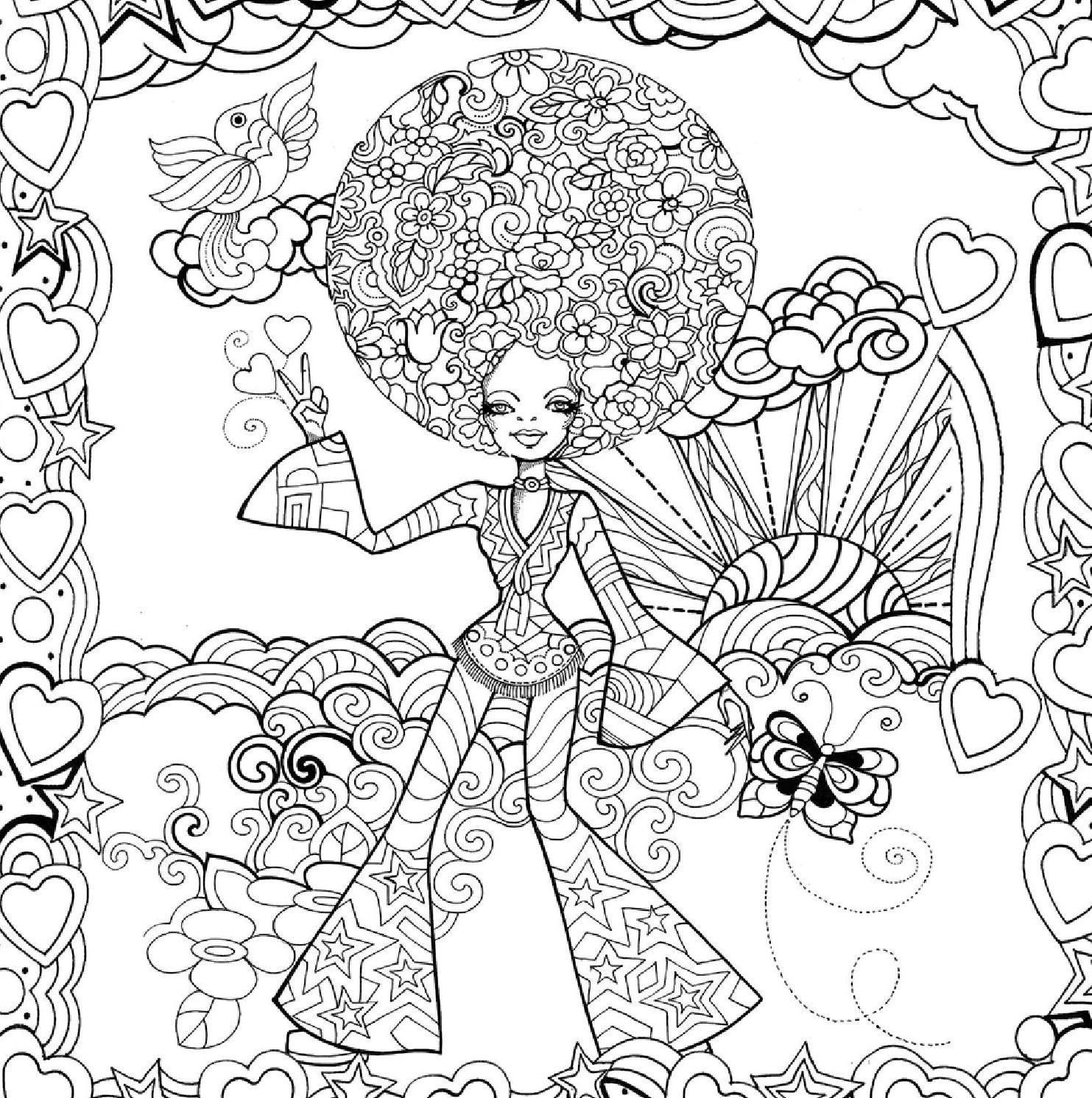 Moda Uma Historia Para Colorir With Images Coloring Pages