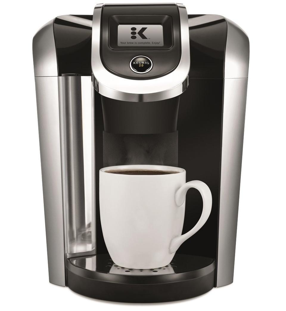 Coffee Maker Review Keurig K Elite Single Serve Vs Keurig K475