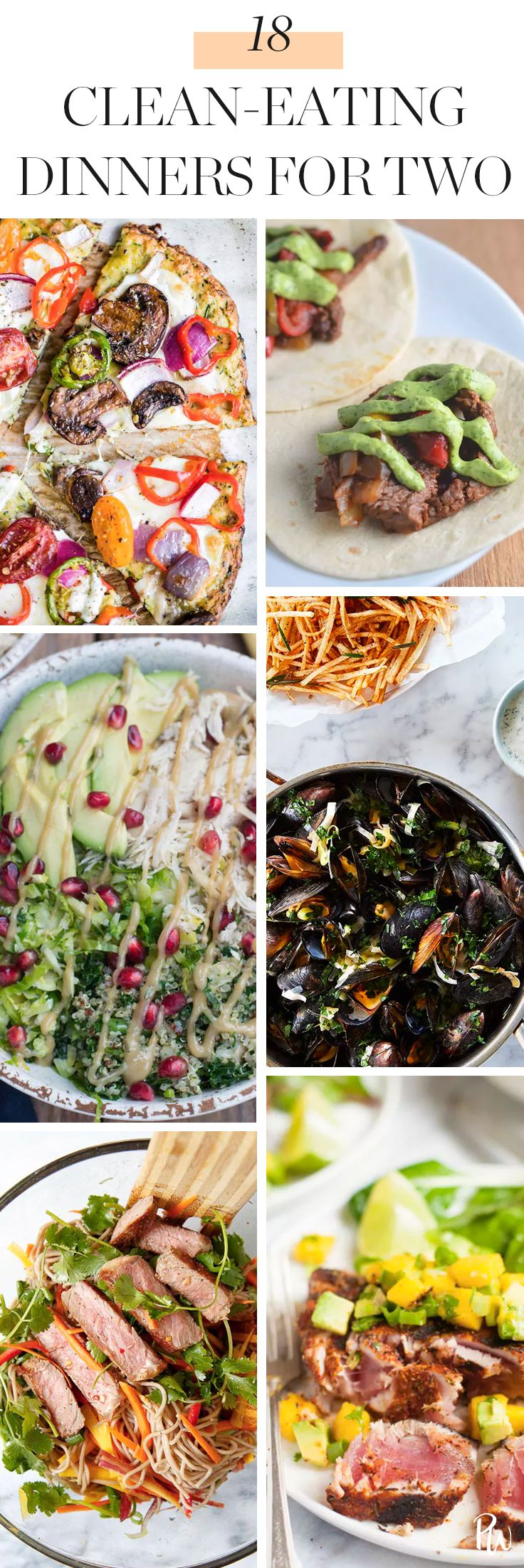 18 Clean-Eating Dinners for Two images