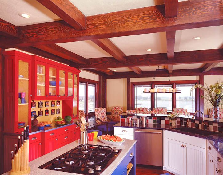 Multicolored Kitchen Cabinets Yahoo Search Results