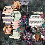 Template: Nothing Sweeter by Fiddle Dee Dee Designs  Kit: Rock Star Princess by Jennifer Labre  Font: I Love Me Some Sheri by Darcy Baldwin  - My Recent Layouts