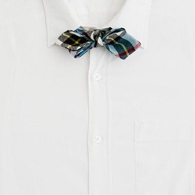 A cool new shape for a bow tie