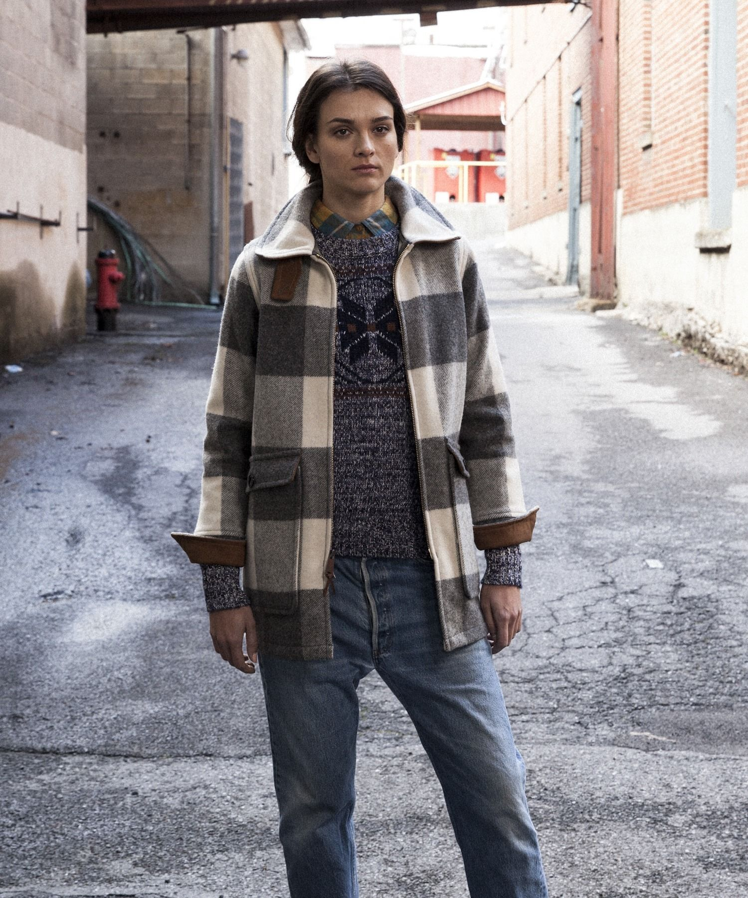 the latest 933f7 24b56 Women's Giant Buffalo Wool Coat by WOOLRICH® The Original ...