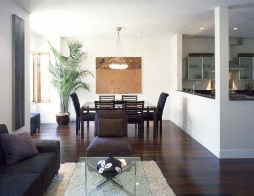 Salas modernas muebles para cocinas modernos departamentos fotos ...