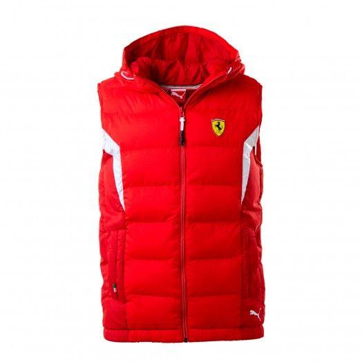 953f2dfa5b16e Puma Scuderia Ferrari Puffer Vest - Ferrari Store   Clothing   Tommy ...