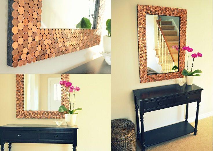 Top 10 diy mirror frames diy mirror craft and crafty top 10 diy mirror frames solutioingenieria Images