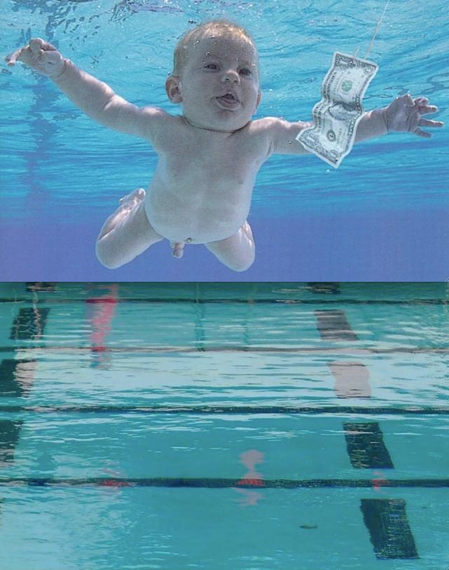 Nirvana Nevermind 1991 Rose Bowl Aquatics Center Pool 1001 Rose