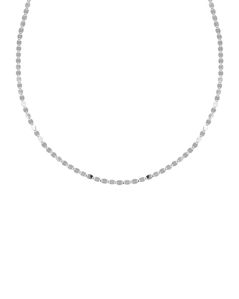 Lana Five Strand Malibu Square Choker Necklace in 14K Gold