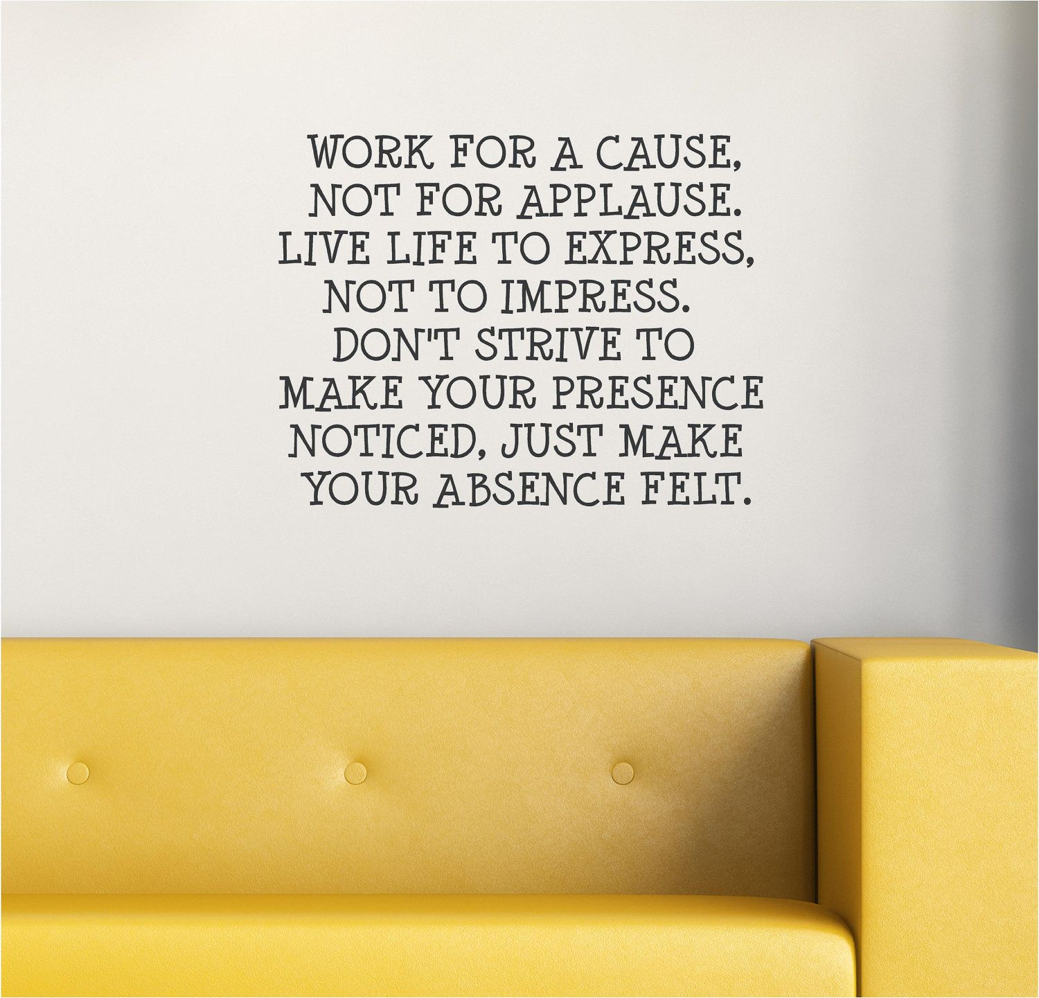 Work for a cause, not for applause. | Thoughts | Pinterest | Thoughts