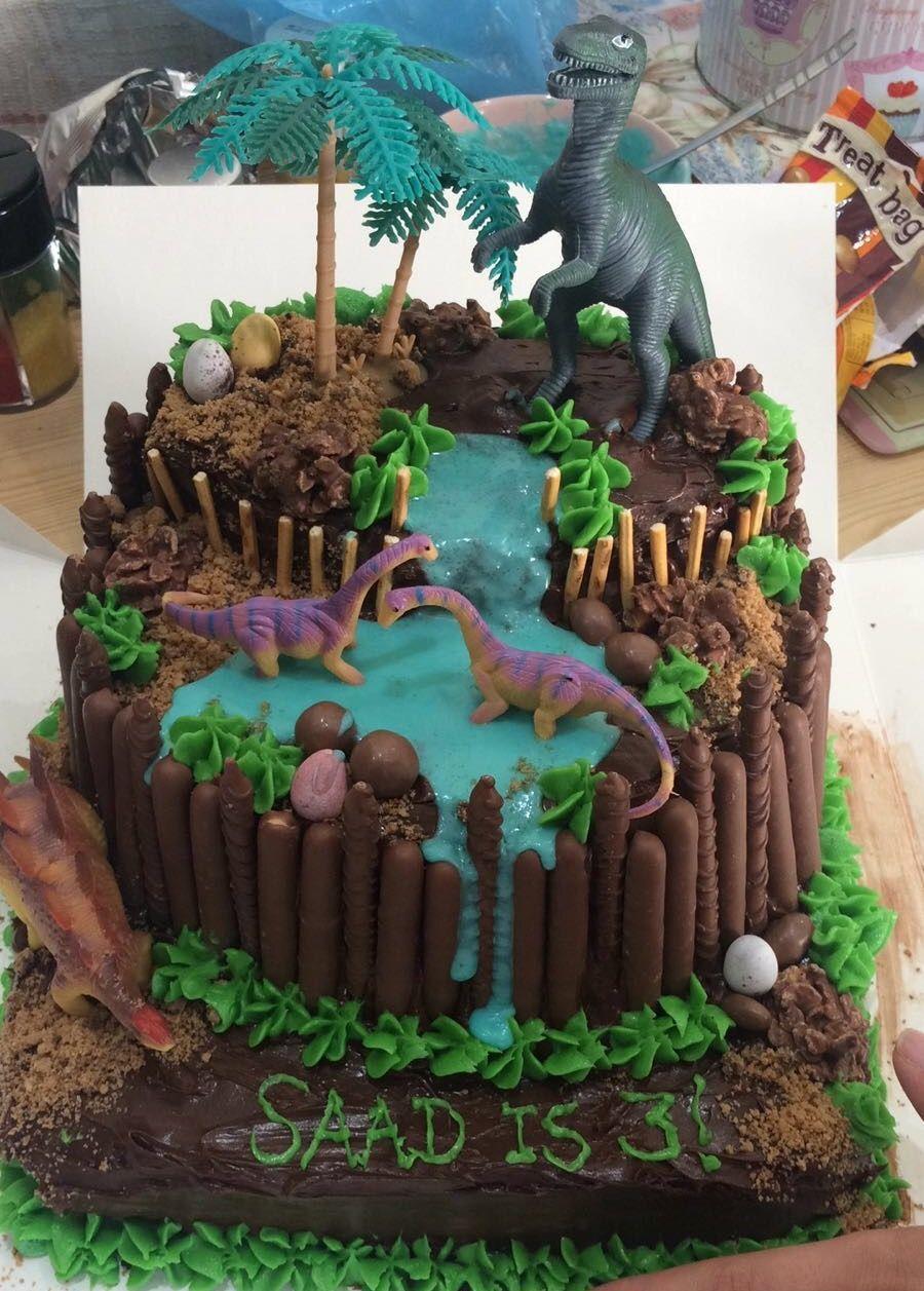 Homemade Dinosaur Birthday Cake Dinosaur Birthday Cakes