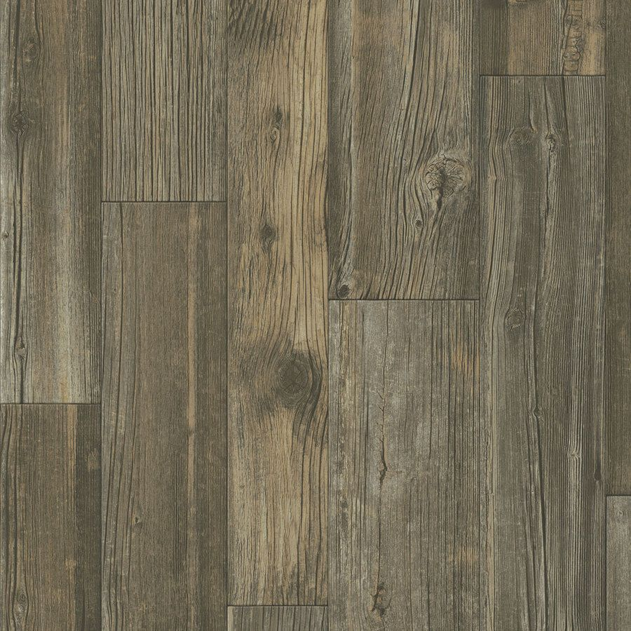 Shop Armstrong 12-ft W Dark Bark Wood Low-Gloss Finish