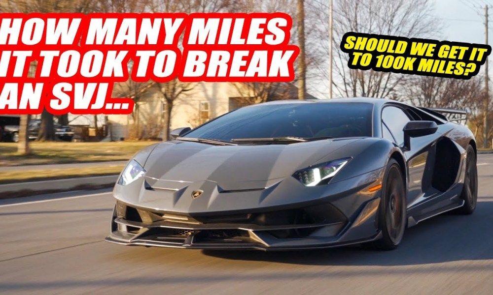 Meet The Highest Mileage Lamborghini Aventador Svj In The World Lamborghini Aventador Super Cars Lamborghini