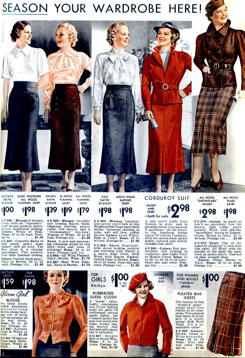 1930 S Inspiration Season Your Wardrobe For The Season Vintage Fashion 1930s 1930s Fashion 1930s Fashion Women