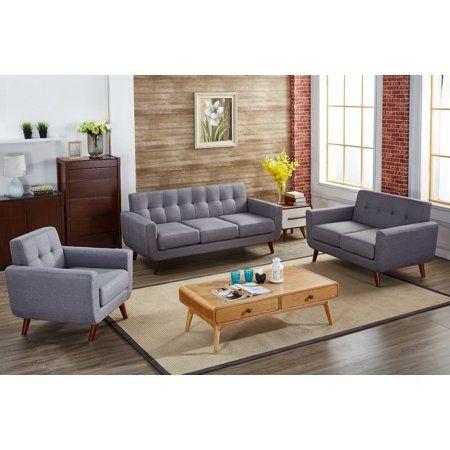 Nilson 3 Piece Living Room Set Living Room Sets 3 Piece Living
