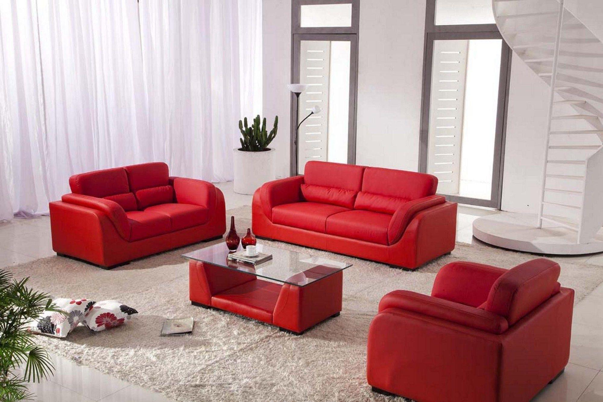 Erstaunlich Sofa Ideen Für Wohnzimmer | Rotes sofa, Bilder ...