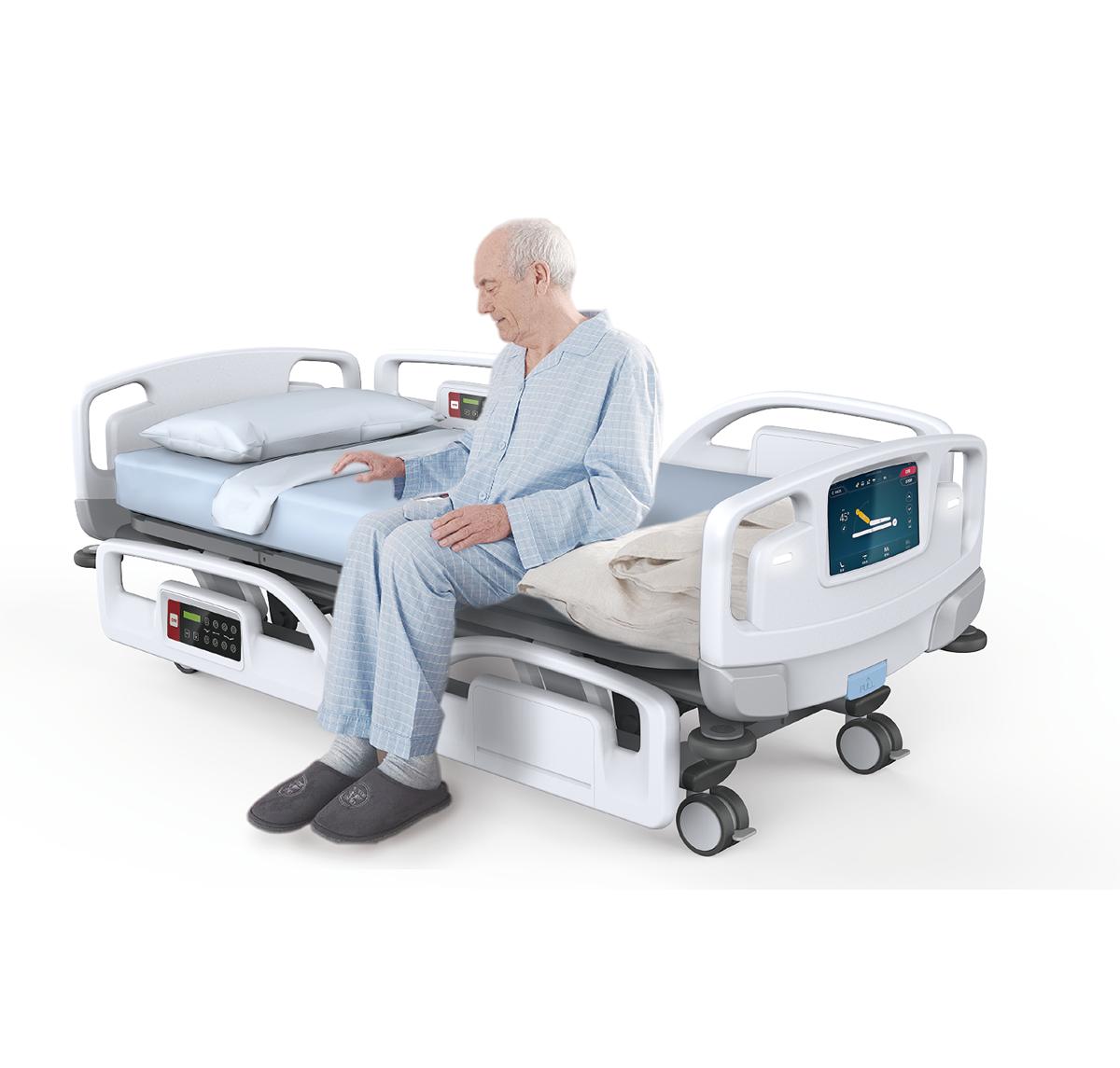 Smart Hospital Bed I On Behance Hospital Bed Bed Hospital Design
