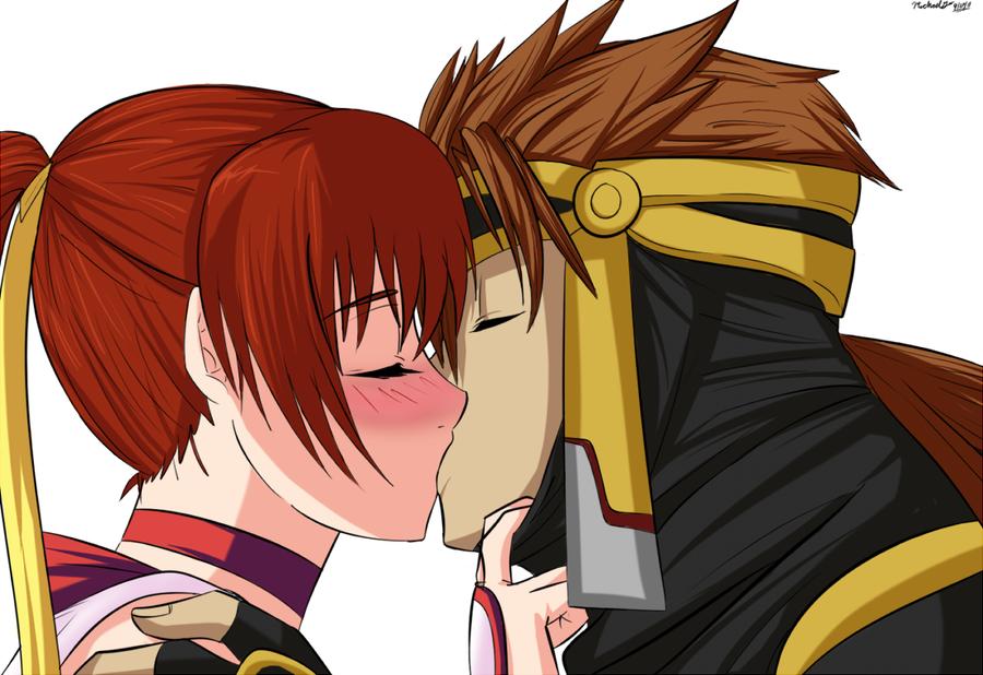 Gift: Ryu And Kasumi By Ninja-8004.deviantart.com On