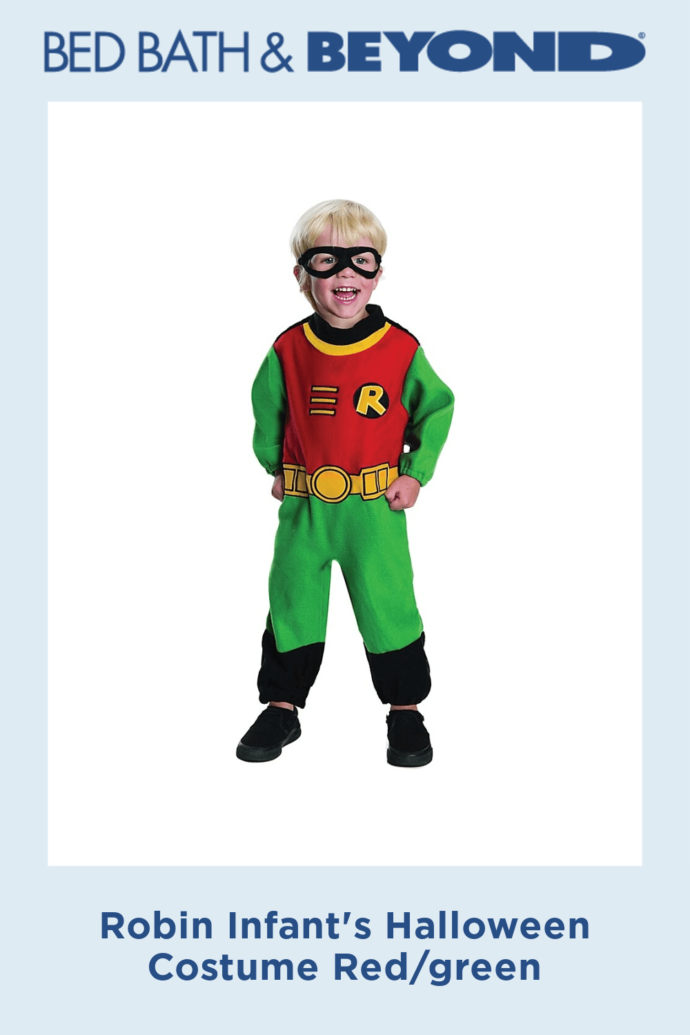 Robin Infant's Halloween Costume Red/green