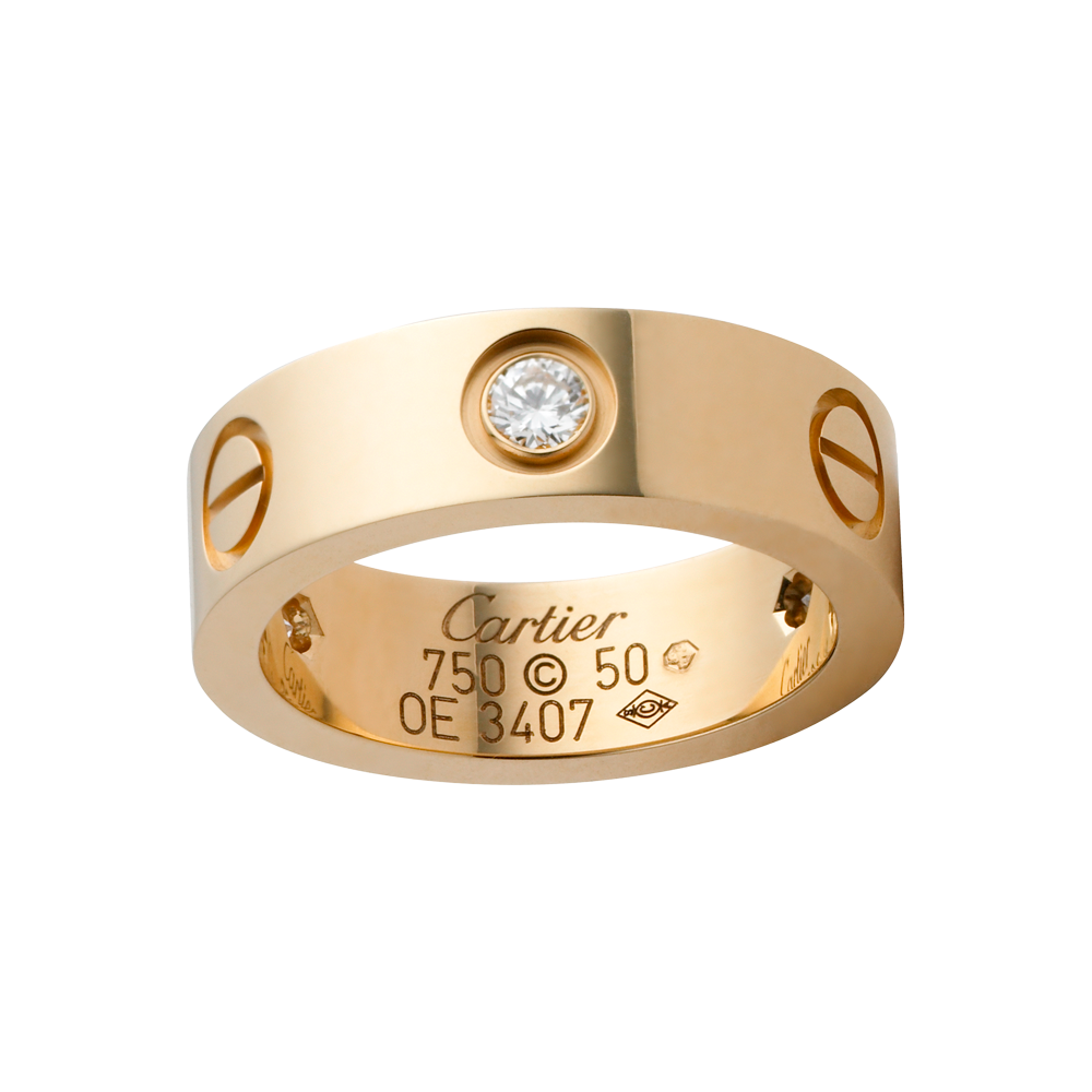 085bc3ca8a14 LOVE ring - Rings Yellow gold