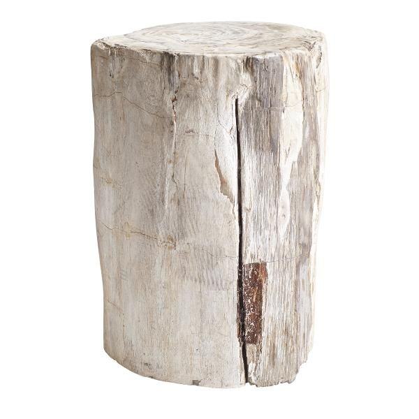 Bring A Little Bit Of The Outdoors In With Our Petrified Wood Stool. A  Functional, Capsulized Piece Of Time.