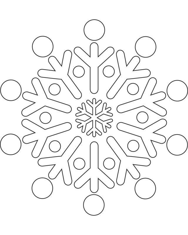 Printable Snowflake Templates to Get You Through Any Snow Day Let - snowflake template