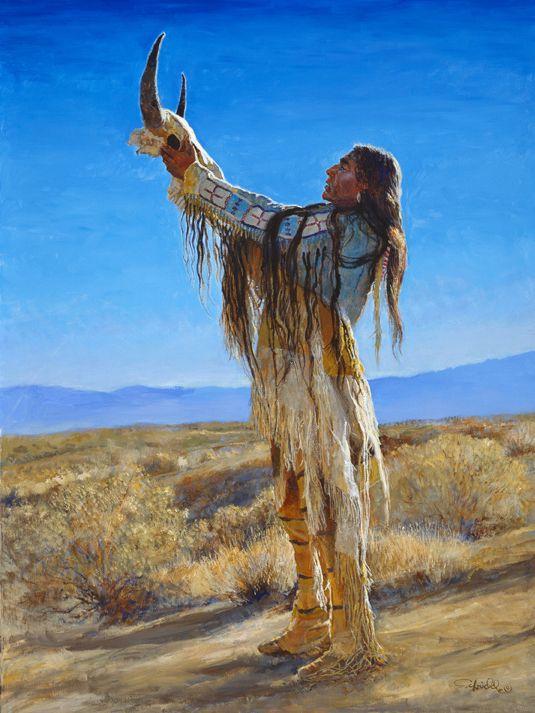 Buffalo Spirit by Charles Schridde