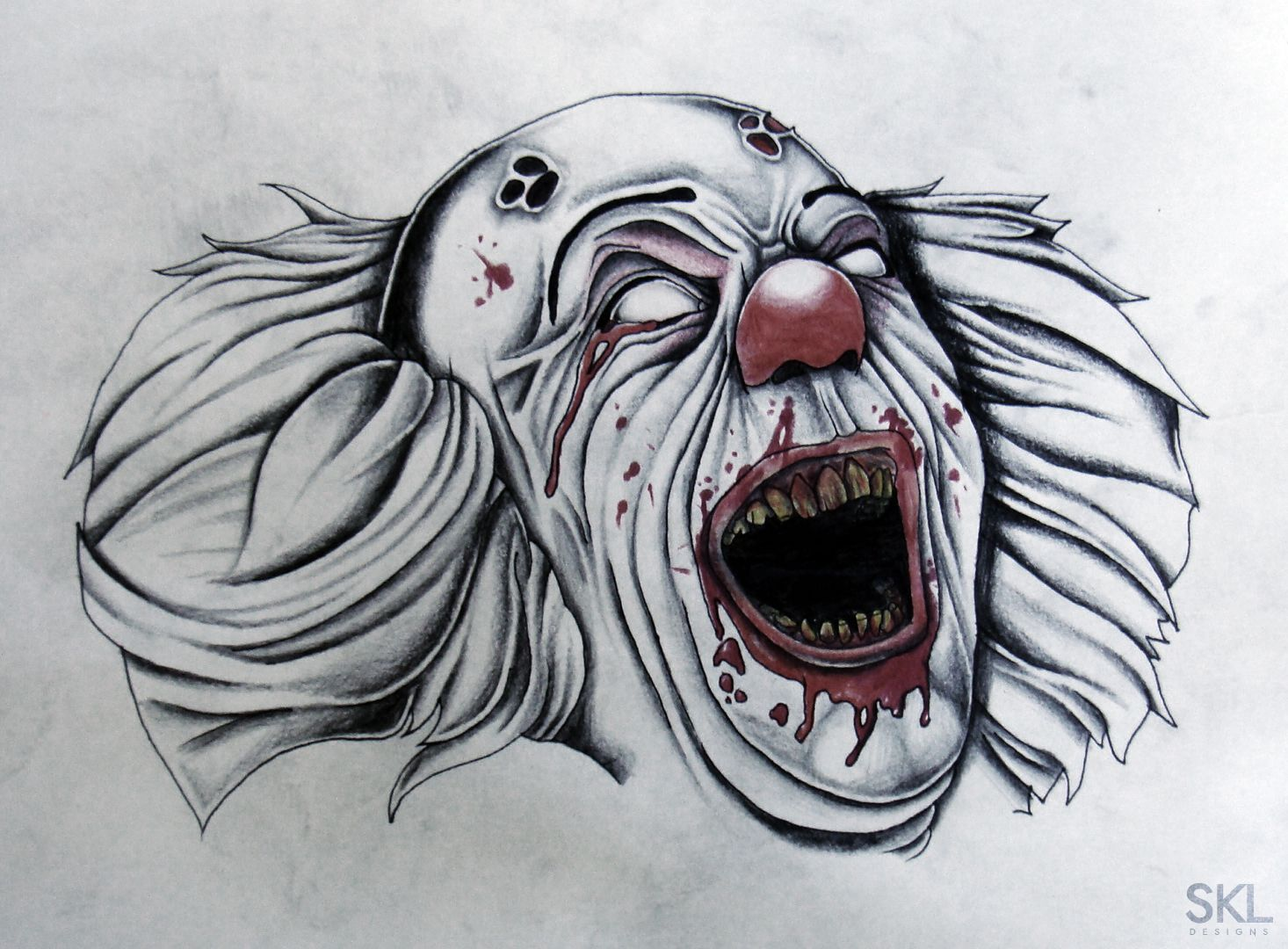 How to draw horror movie characters drawings illustrations skldesigns