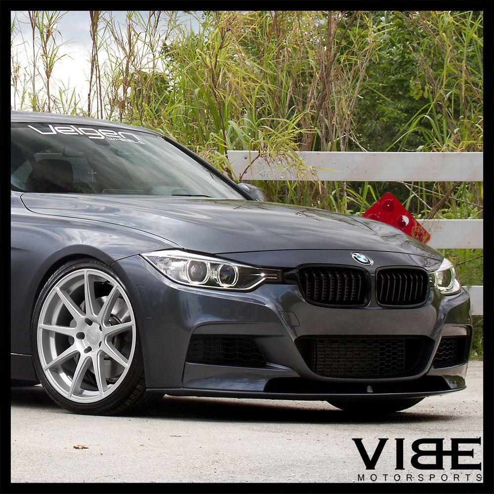 20 Velgen Vmb9 Silver Concave Wheels Rims Fits Bmw E92 E93 328i