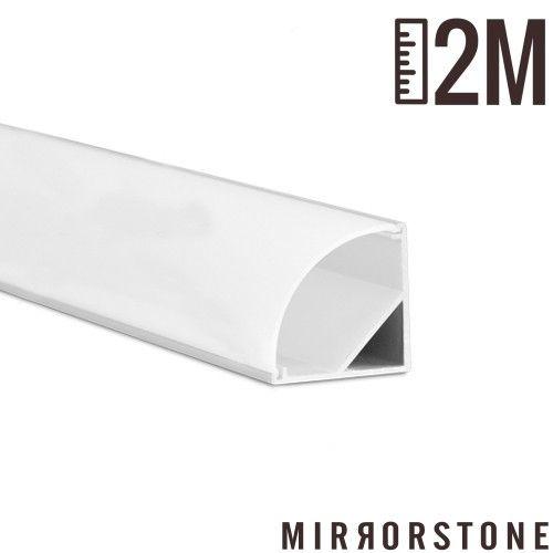 Slimpro 2m Corner Led Profile Extrusion Led Strip Lighting Led Strip Lighting