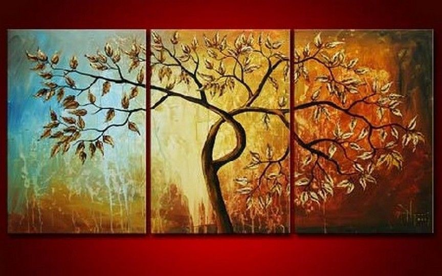 Canvas Art Abstract Painting Original Large