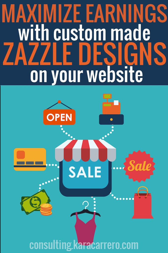 Maximize your earnings from Zazzle Designs and your own Zazzle store with a few simple tips and implement it into your website's shop or estore.