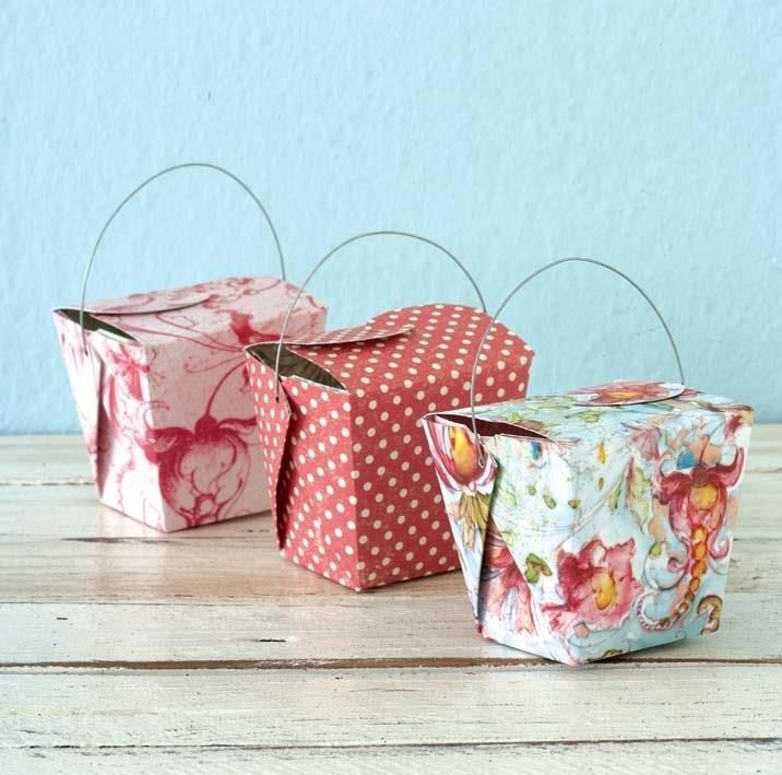 Pretty Homemade Gift Boxes templates \ tutorials Gift box - homemade gift boxes templates